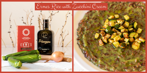 Ermes Rice with Zucchini Cream