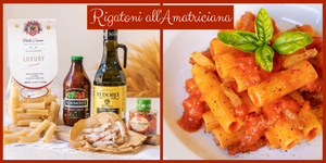 Rigatoni Pasta all'Amatriciana