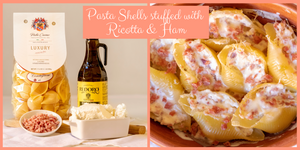 Pasta Shells stuffed with Ricotta & Ham