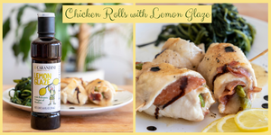 Chicken Rolls with Carandini Lemon Glaze