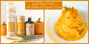 Angel Hair Pasta with Butternut Squash Sauce