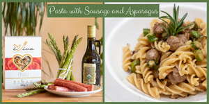 Fusilli with Asparagus and Sausage