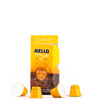 Aiello Nespresso Intense Pods 1.9oz - Magnifico Food