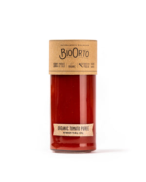 Organic Tomato Puree 19.40 oz - Magnifico Food