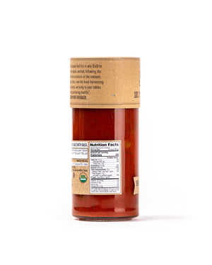 Organic Tomato Sauce with Basil 19.40 Oz - Magnifico Food