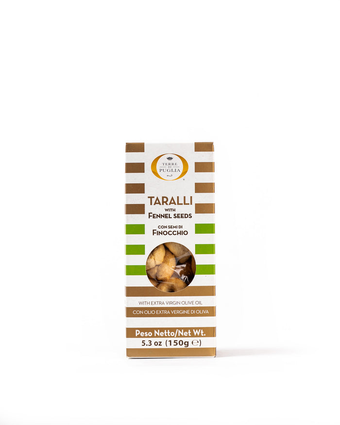 Taralli with Fennel Seeds 5.3 Oz