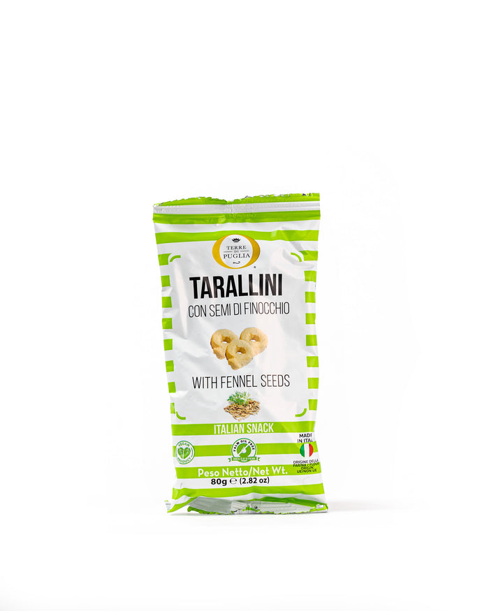 Tarallini with Fennel Seeds 2.82 Oz