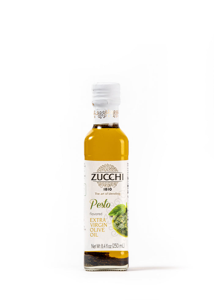 Extra Virgin Olive Oil with Pesto Flavour 8,4 Fl Oz