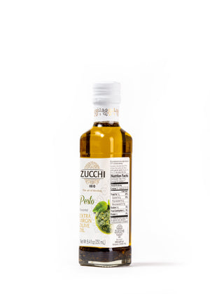 Extra Virgin Olive Oil with Pesto Flavour 8,4 Fl Oz - Magnifico Food