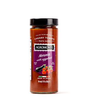 Norma Cherry Tomato Pasta Sauce with Eggplants 20.46 Oz - Magnifico Food