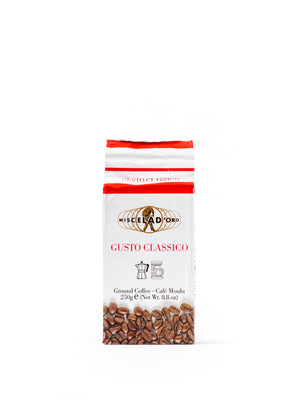 Gusto Classico Ground Coffee 8.8 Oz - Magnifico Food