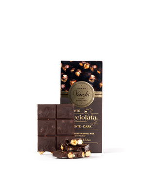 Nocciolata 56% Dark Chocolate Hazelnut Bar 3.52 Oz