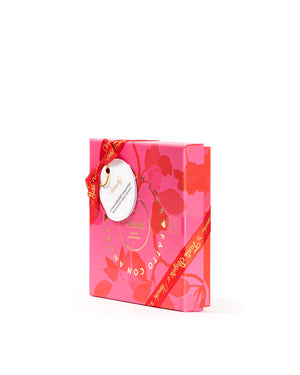 Gift Box 10 Assorted Milk Dark Fruity Chocolate 3.07 Oz