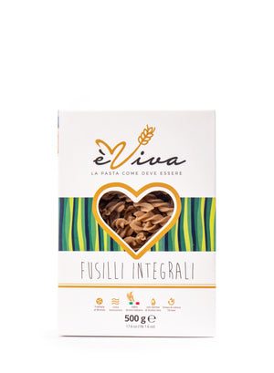 èViva Pasta Whole Wheat Fusilli 17.6 Oz - Magnifico Food