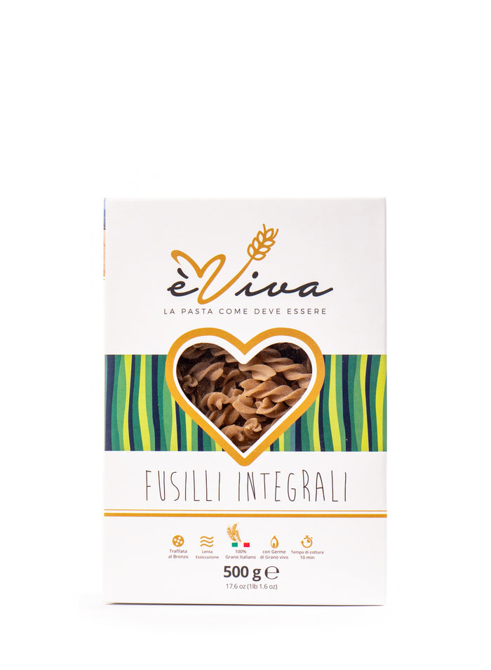 èViva Pasta Whole Wheat Fusilli 17.6 Oz