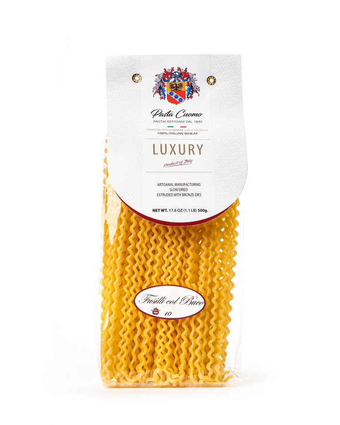Fusilli col Buco Pasta with a Hole 17.6 Oz