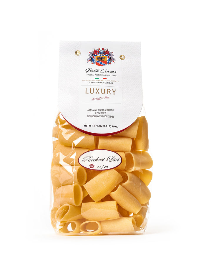 Smooth Paccheri Pasta 17.6 Oz