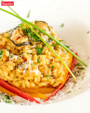 Vegetables Risotto - Ready to Cook - 8.8 Oz - Magnifico Food