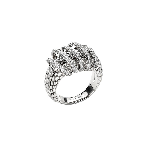 MiaLuce Ring with Diamonds