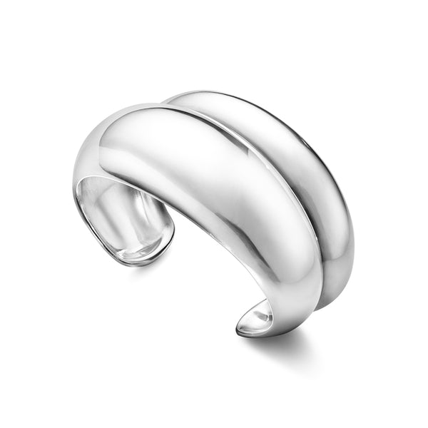Curve Bangle - Sterling Silver