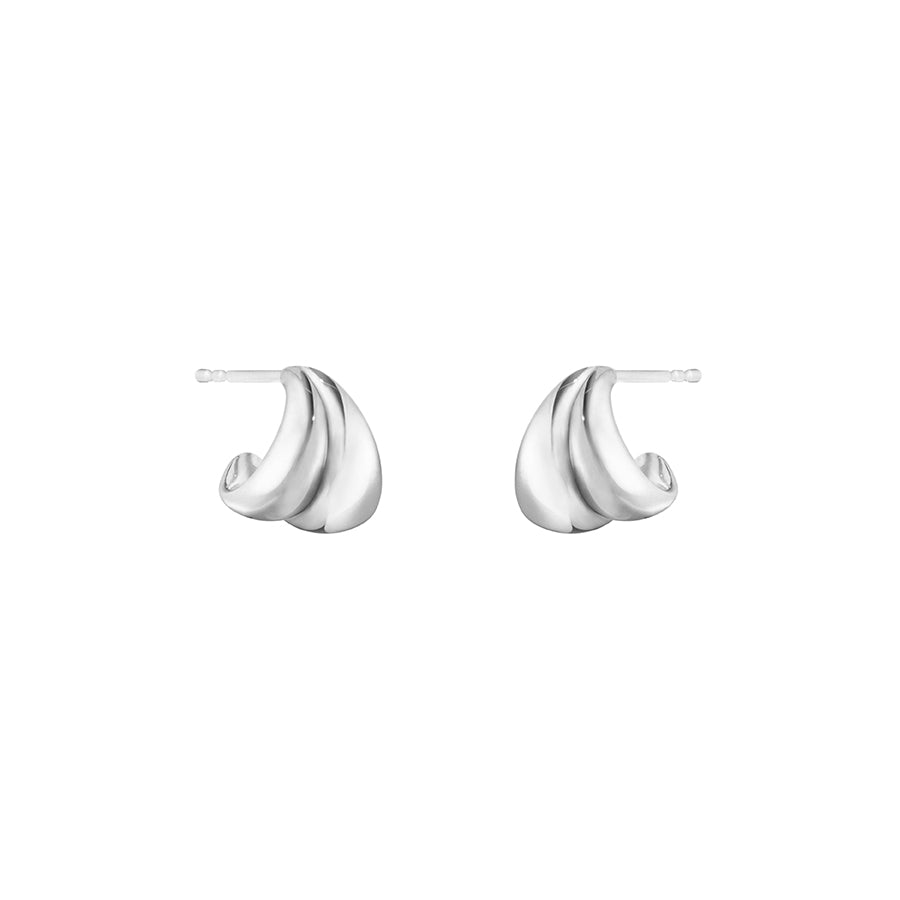 Curve Earrings - Sterling Silver