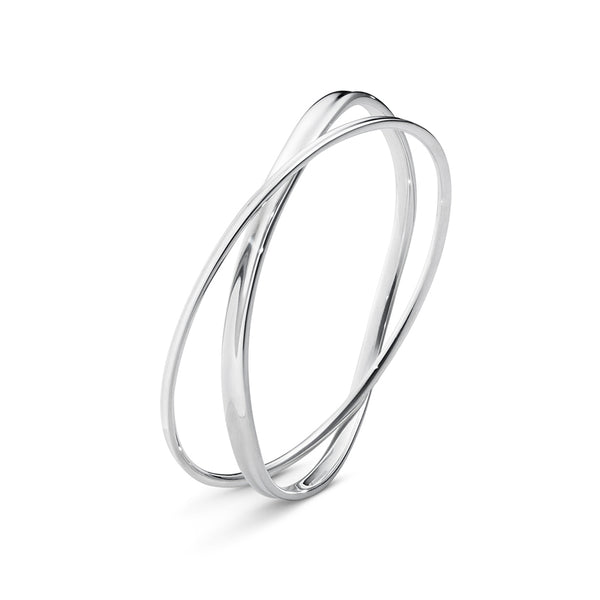 Marcia Bangle - Sterling Silver