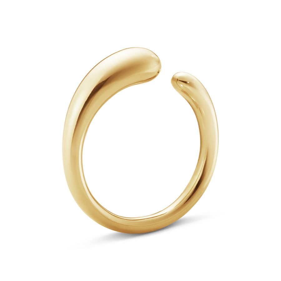 Mercy Mini Ring - 18kt Yellow Gold
