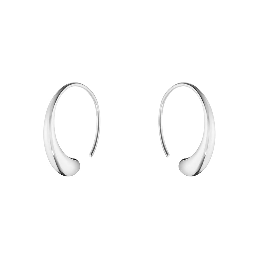 Mercy Earhoops - Sterling Silver