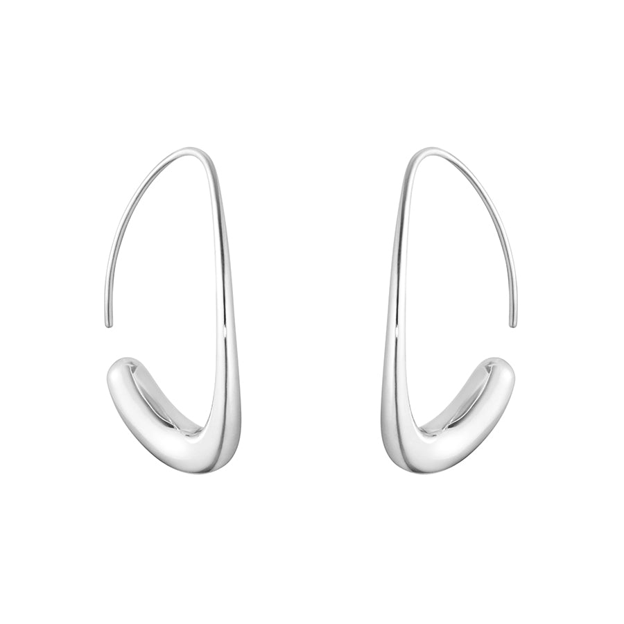 Offspring Earhoops - Sterling Silver