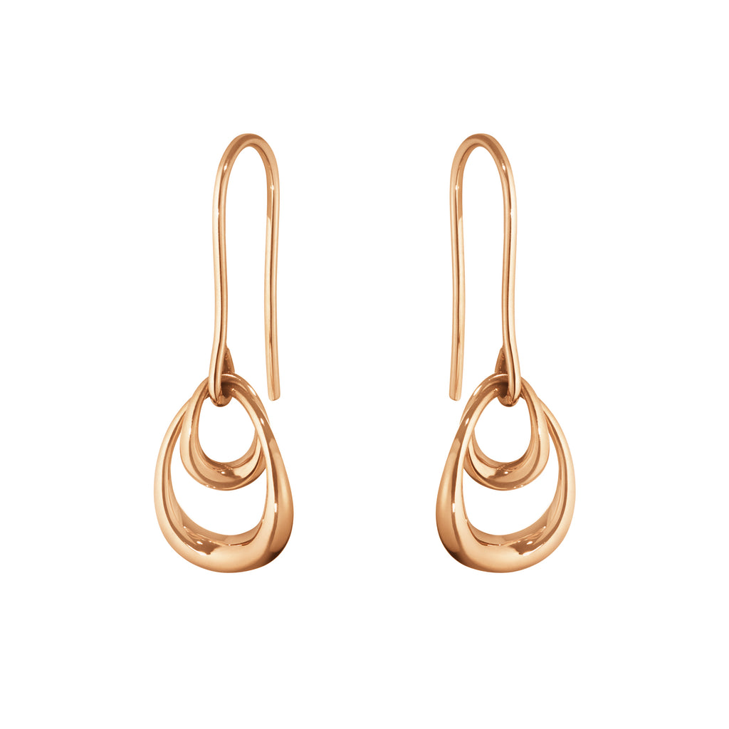 Offspring Drop Earrings - 18kt Rose Gold