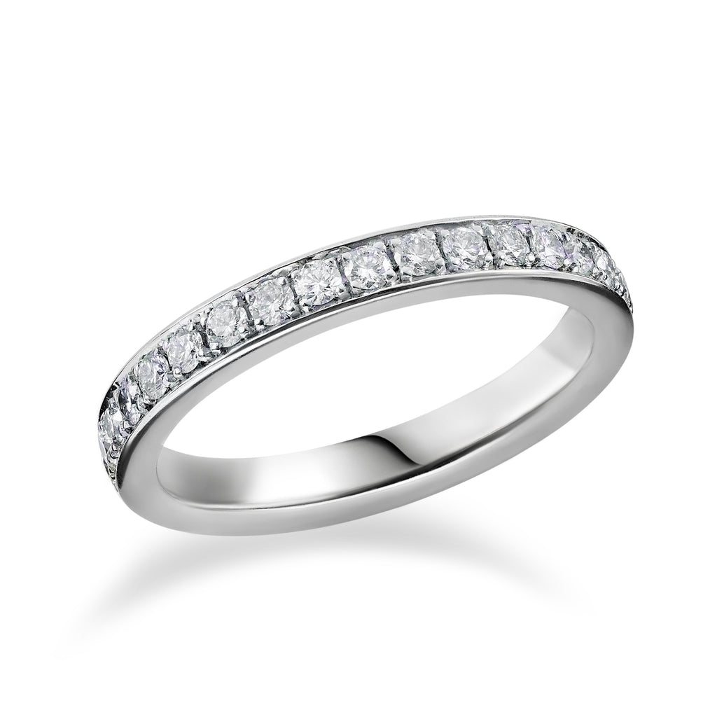 Thread and Grain Set Full Eternity Ring