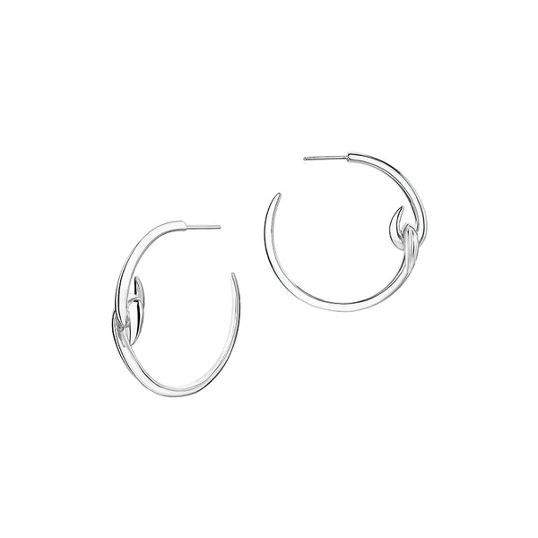 Hook Hoop Earrings