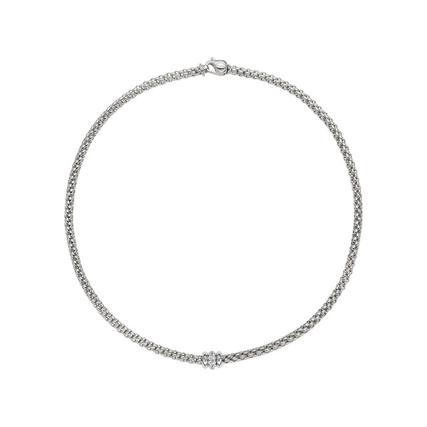 Solo Necklace with Diamond Rondel