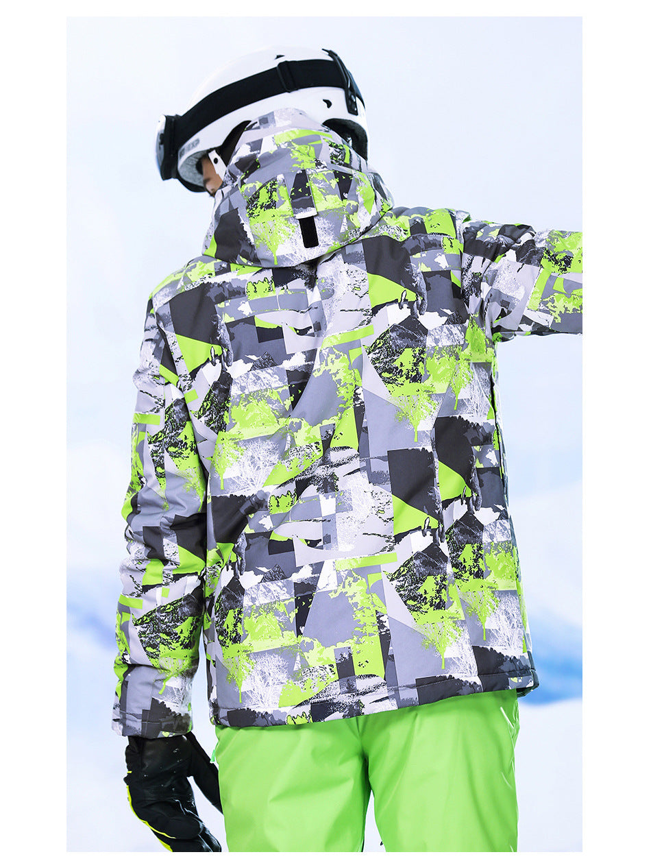 Men's High Experience Mountain Picture 15k Waterproof Ski Jacket