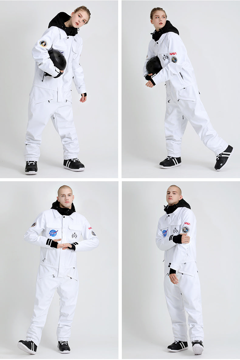 Men's SMN Slope Star Ski Suits Winter Snowsuits