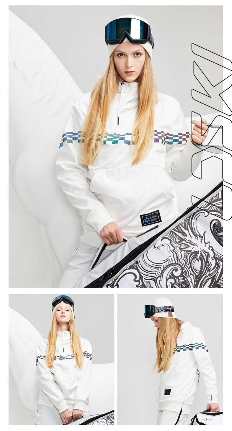 LD Ski Unisex Chic Style Winter Outdoor Hoodie
