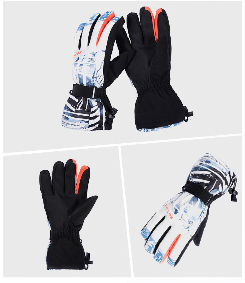 Cheap Men's Vector Mountain Pilot Waterproof Ski Gloves