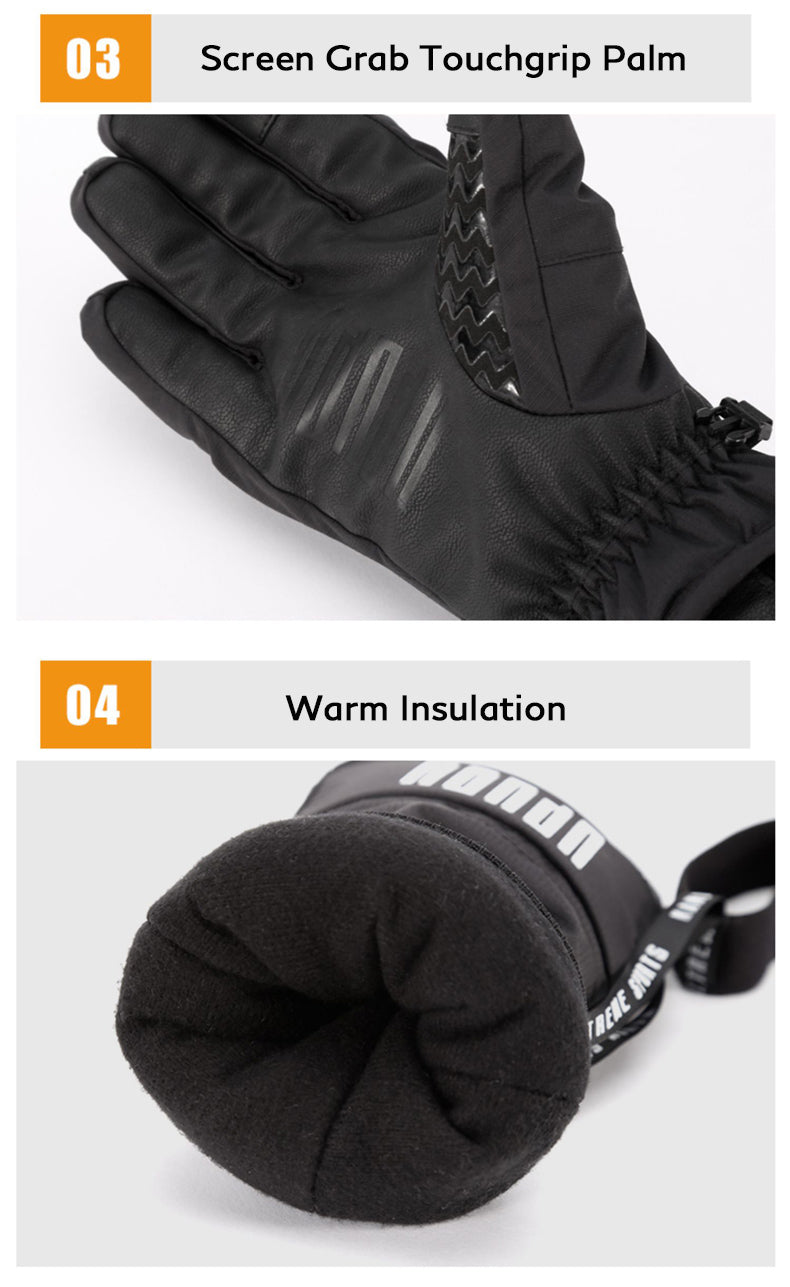 Men's Winter All Weather Snowboard Gloves