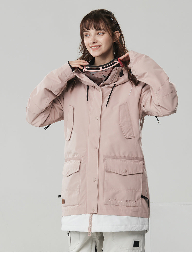 Nandn Skylark Utility Winter Snow Jacket