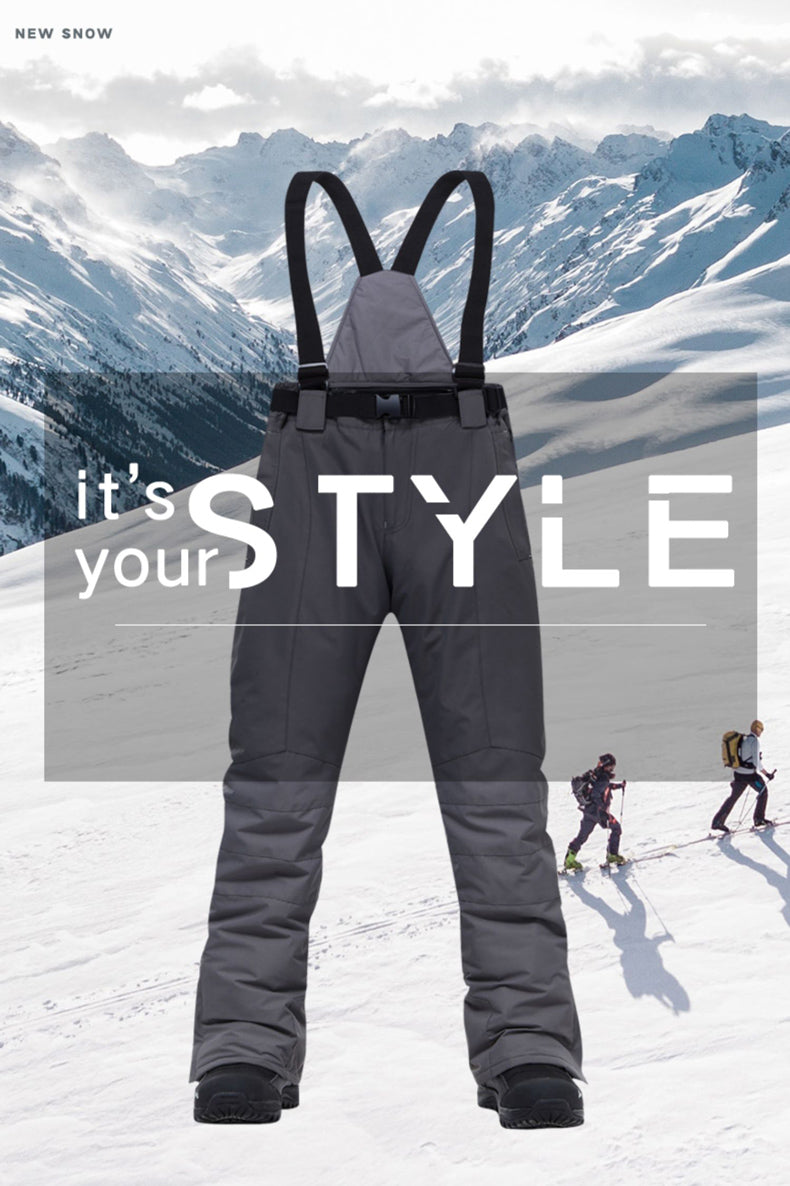 Men's Mutu Snow 10k Waterproof Winter Hardwear Bib Snow Pants