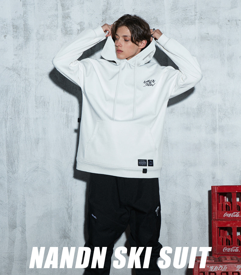 Nandn Unisex Limited Edition Mountain Top Hoodie