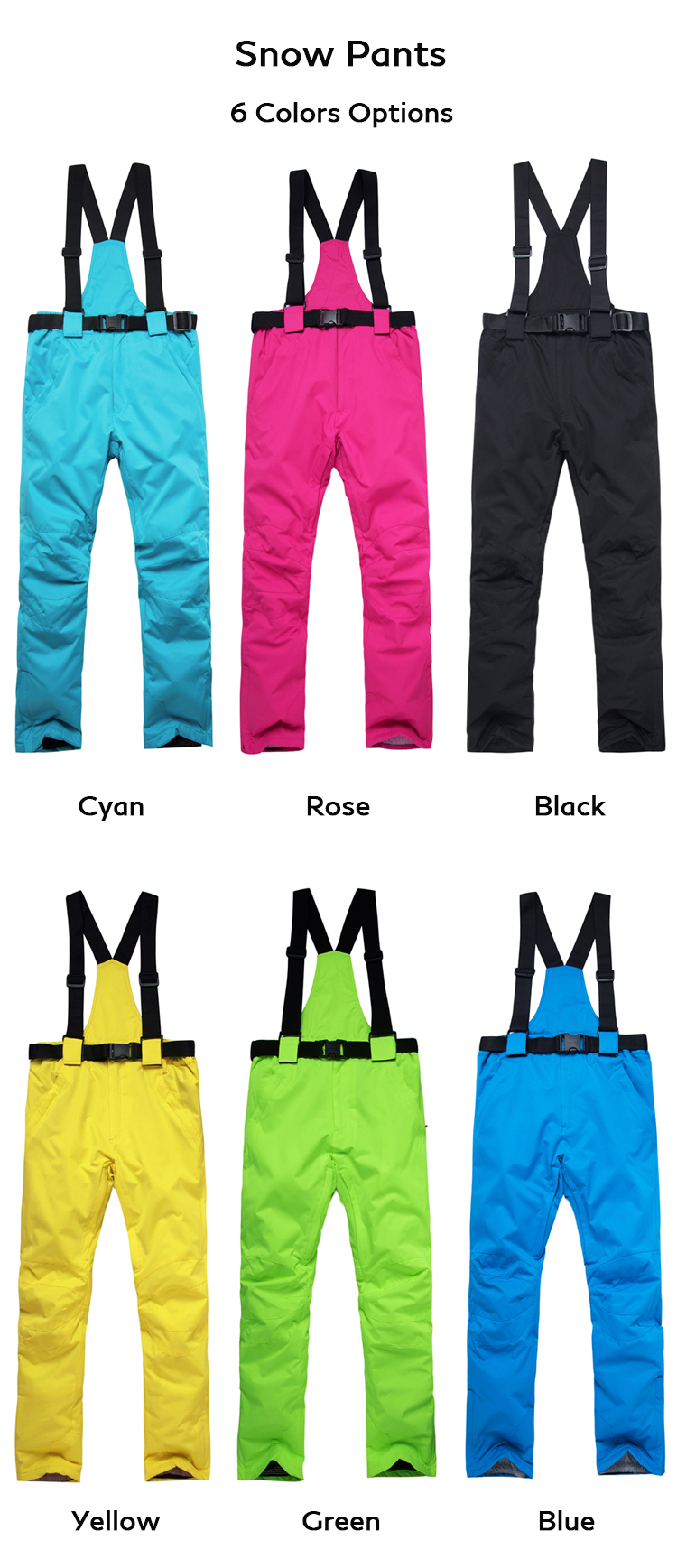 Arctic Queen Women's Bright Colorful Performance Insulated Ski Suits