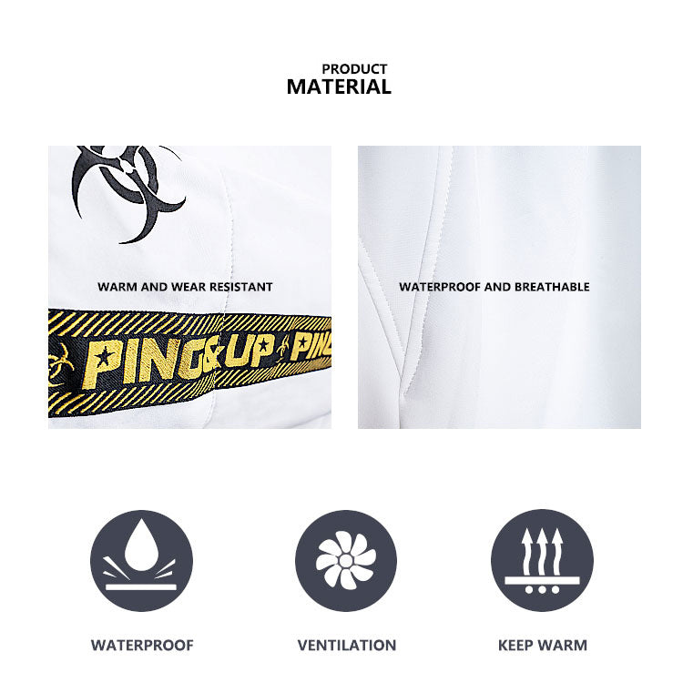 Pingup Unisex Breaking Bad Season Snowboard pants & jackets