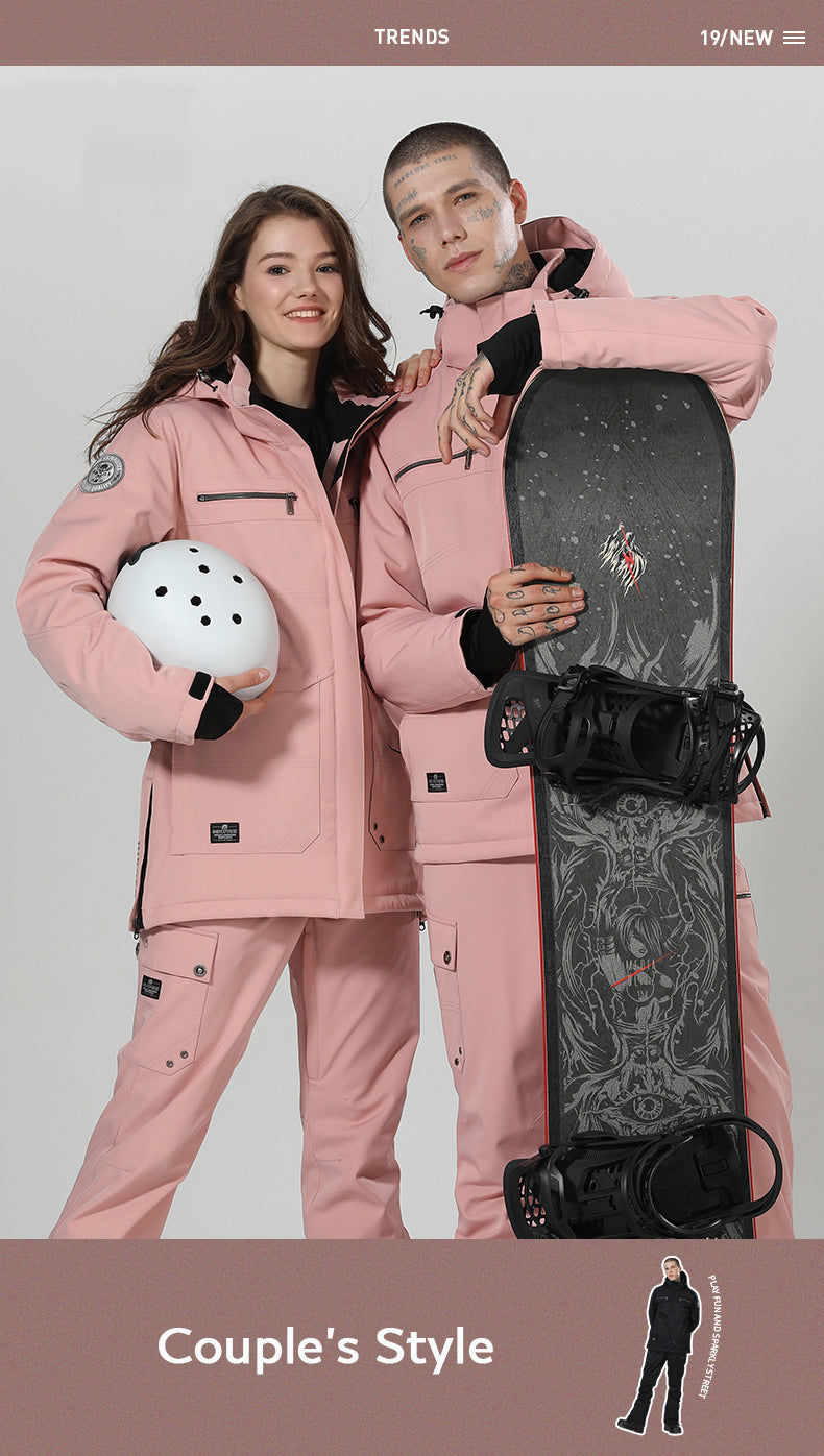 Women's High Experience Top Quality Winter Fashion Outerwear 15k Waterproof Ski Snowboard Jackets