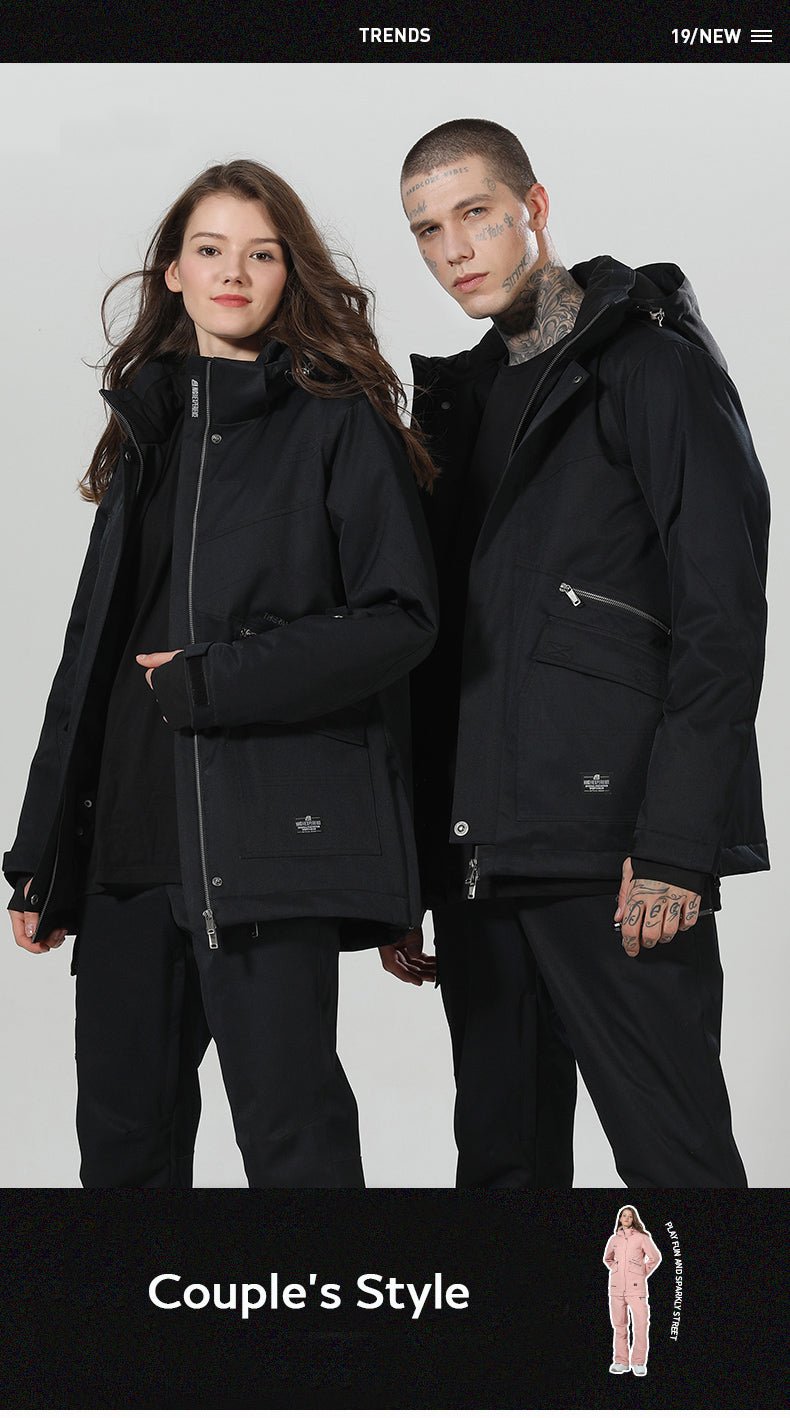 High Experience Top Quality Winter Outerwear Mountain 15k Waterproof Ski Snowboard Jackets
