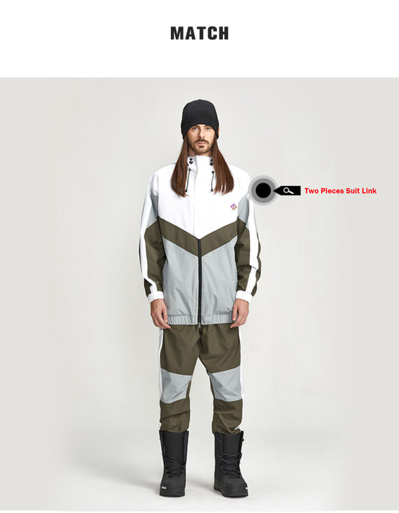 LD Ski Outdoor Fashion Snow Jacket