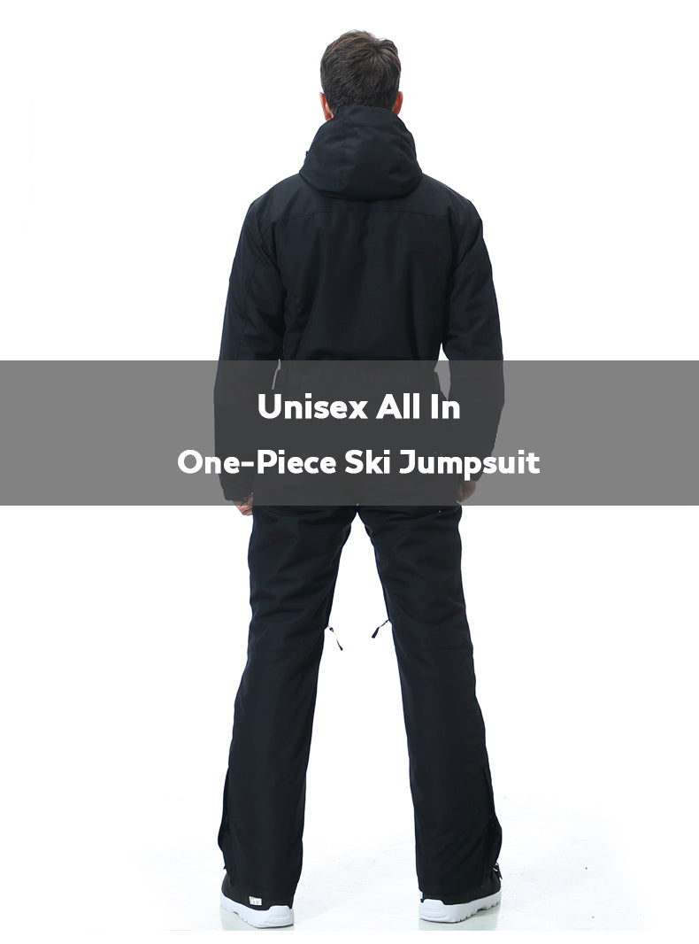 Blue Magic Snowshred Unisex All In One Piece Ski Jumpsuit Winter Snowsuits