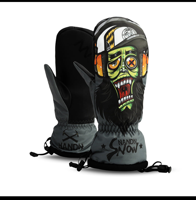 Men's Forbidden Zone Snowboard Mitten