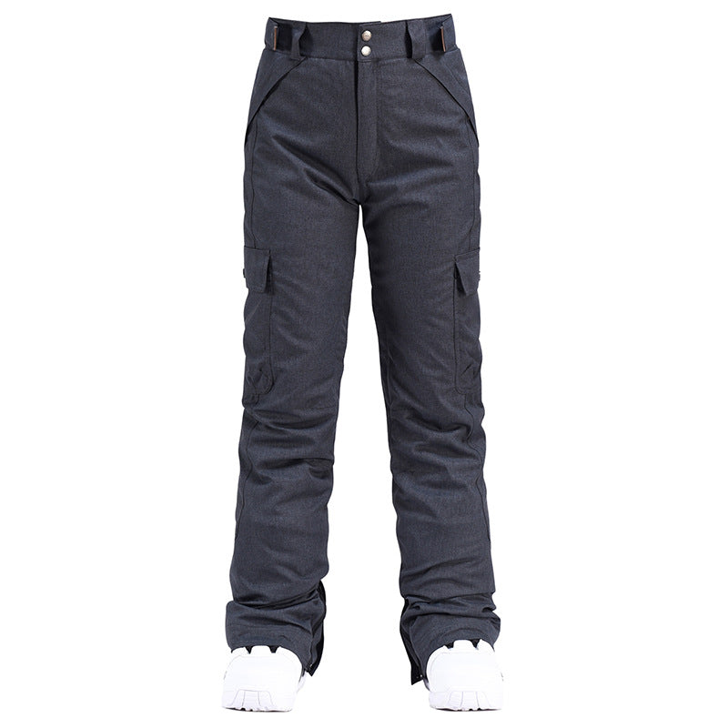 Women's Chic Insulated Waterproof Winter Snowboard Ski Bib Pants