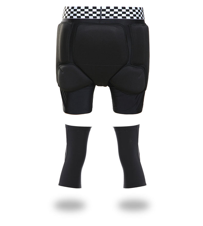 SMN Unisex Undercover Protective Shorts / Knee Pads